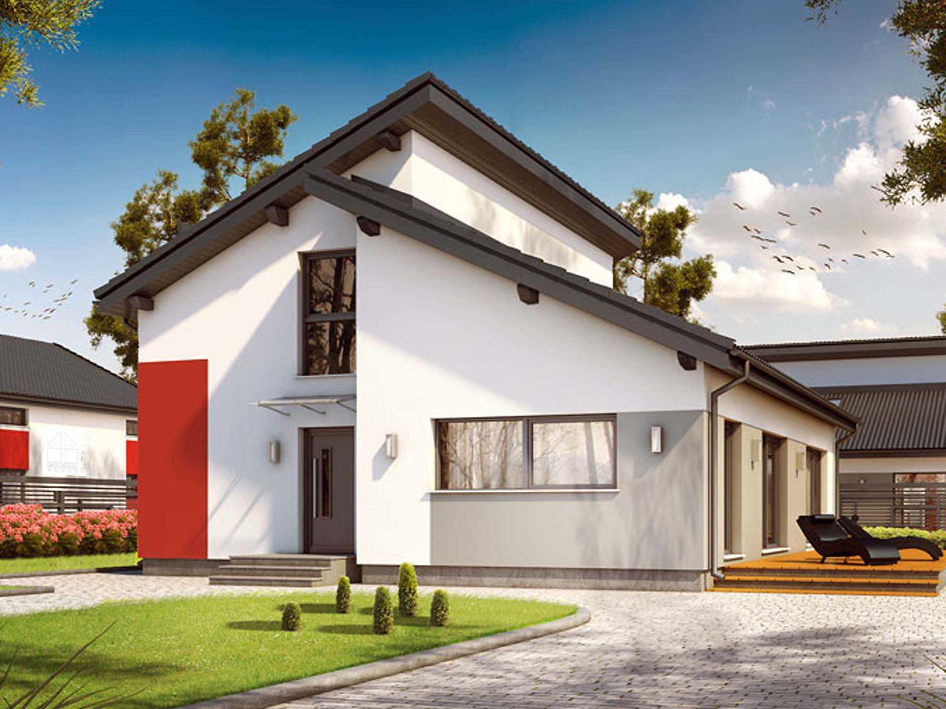 Pultdachhaus 135 von Hausfreu.de