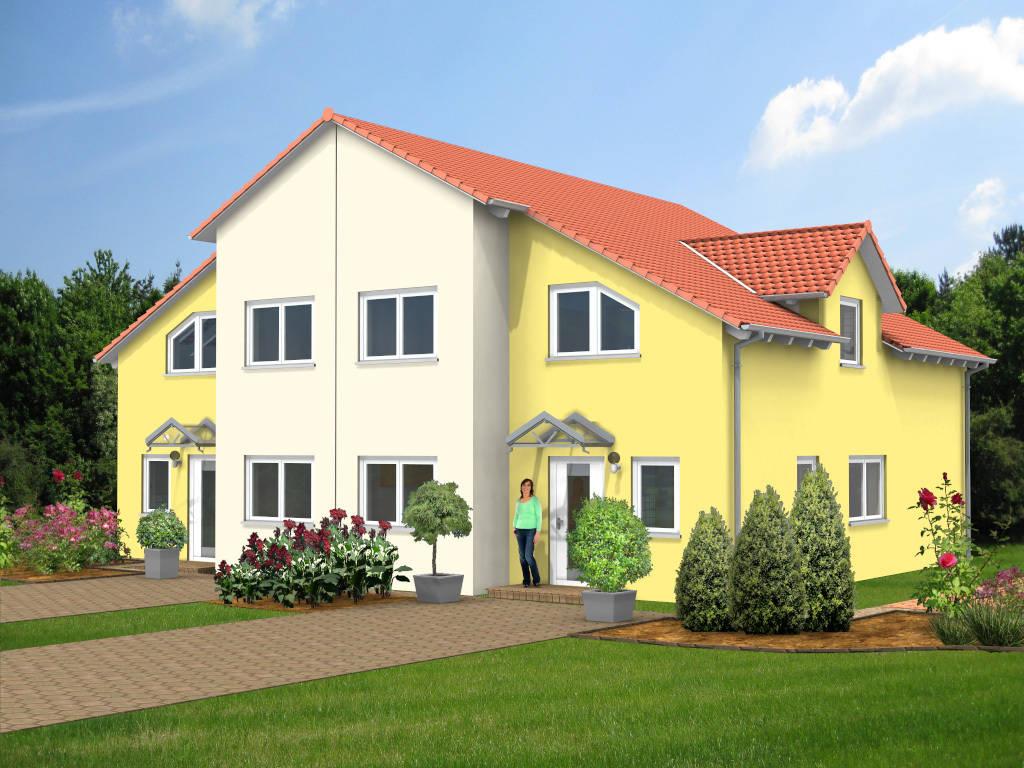 Doppelhaus Passivhaus 119qm