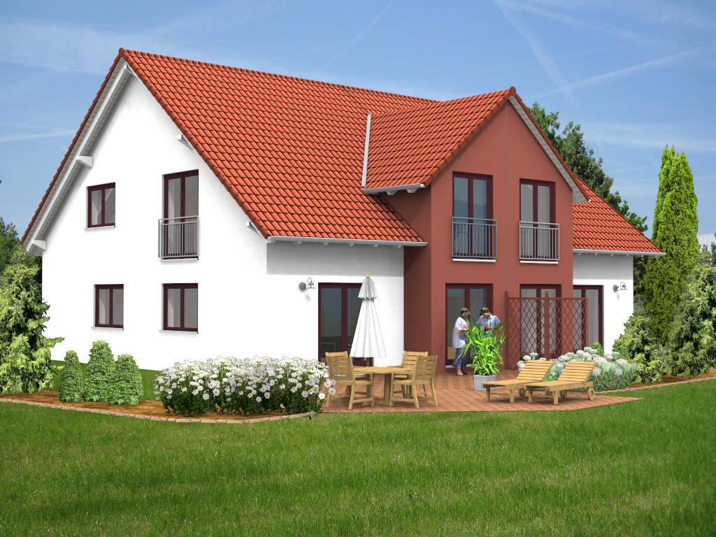 Doppelhaus Querhaus 130qm