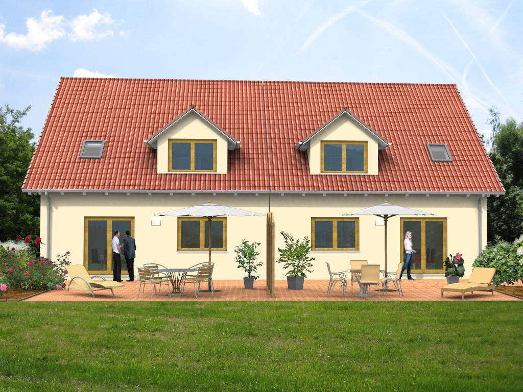 Doppelhaus Klassiker 116qm