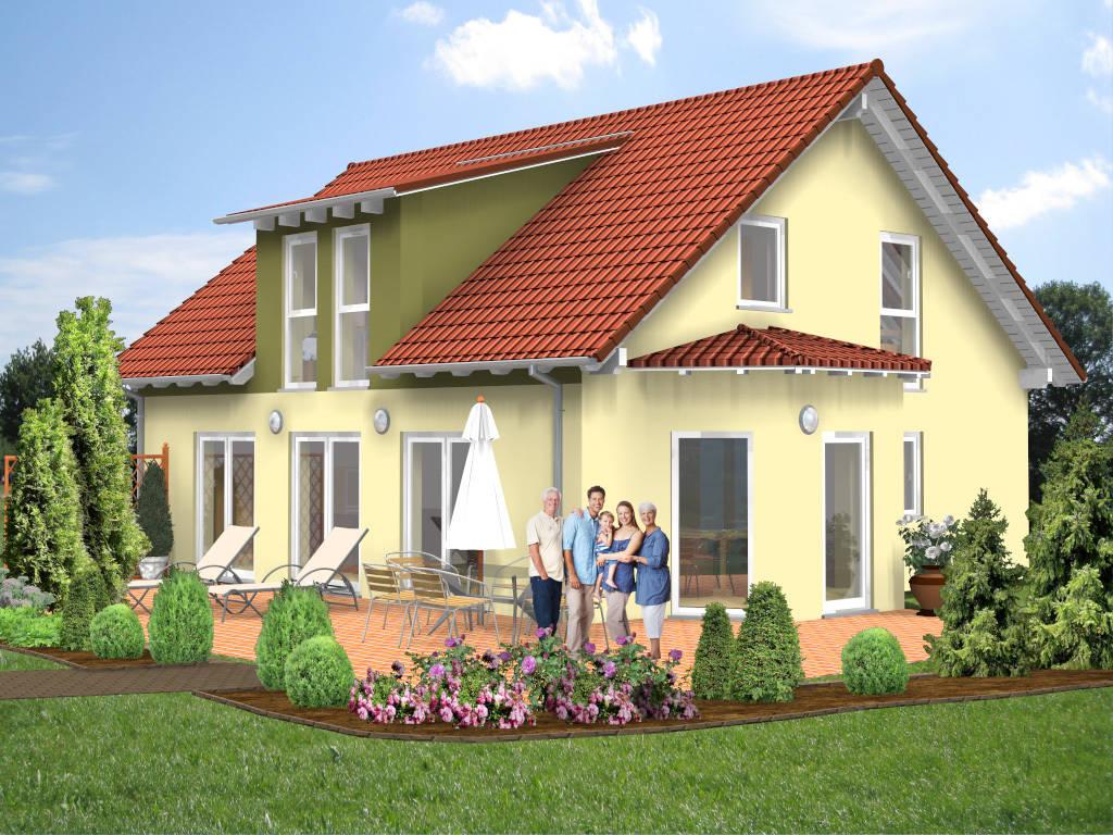 Einfamilienhaus Gaube Erker 138qm