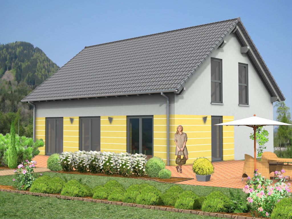 Einfamilienhaus Satteldach 134qm
