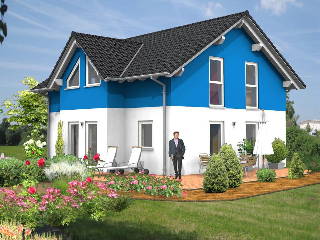 Einfamilienhaus Erker Querhaus 123qm