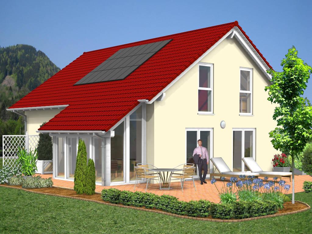 Satteldachhaus Wintergarten 139qm