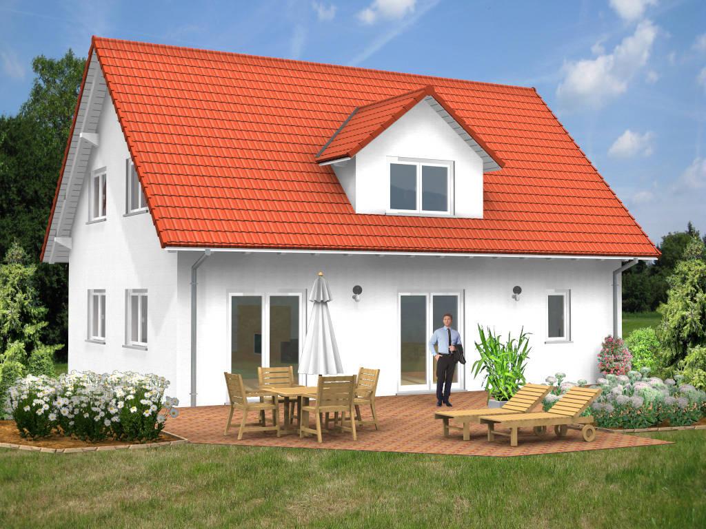 Einfamilienhaus Satteldach klassisch 125qm