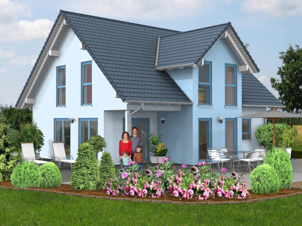 Einfamilienhaus Freisitz Loggia 136qm