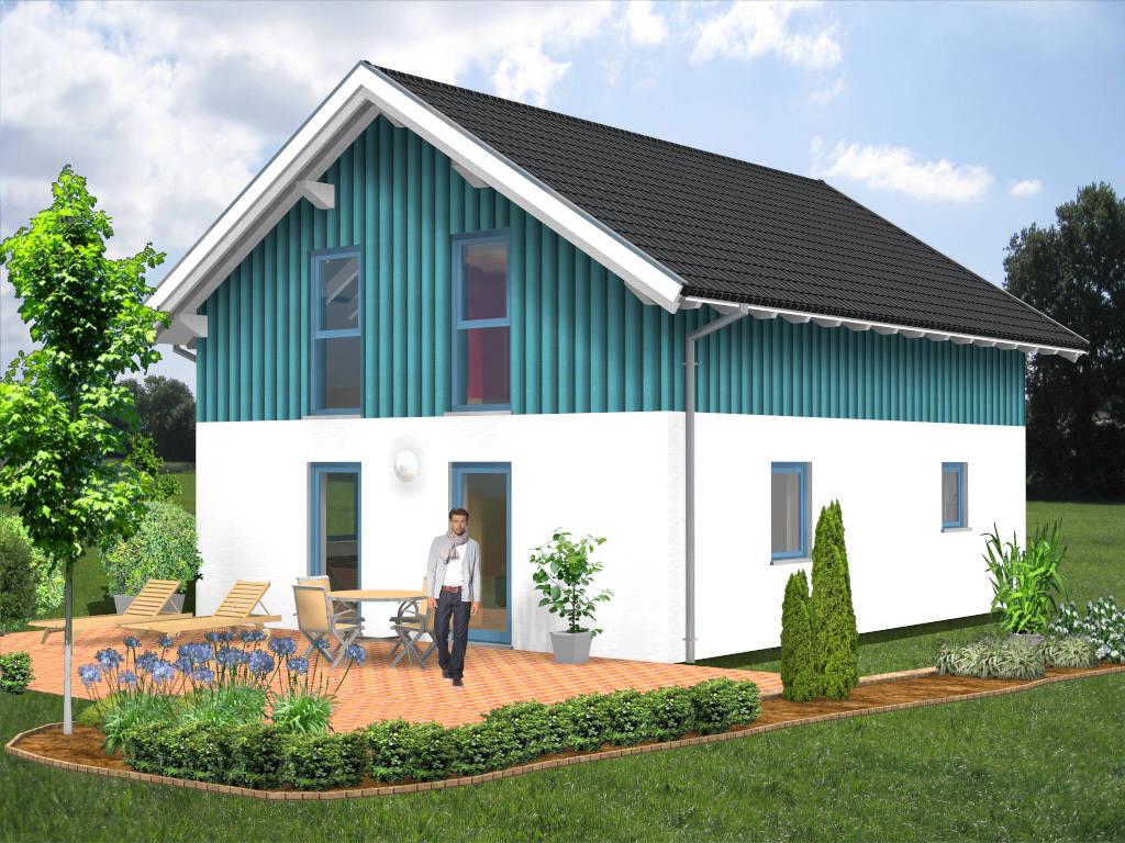 Einfamilienhaus Holzverschalung 115qm