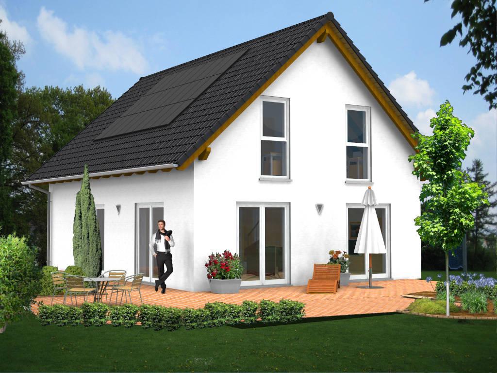 Einfamilienhaus Satteldach 113qm