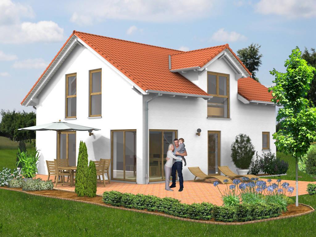 Einfamilienhaus Garage Gaube 99qm