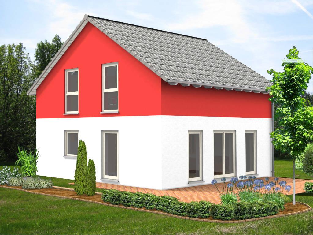 Einfamilienhaus Satteldach 96qm