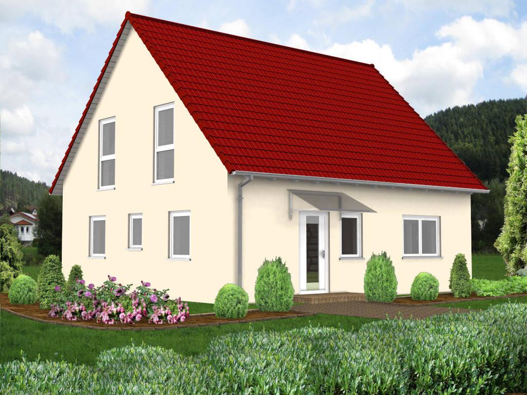 Einfamilienhaus Satteldach 108qm