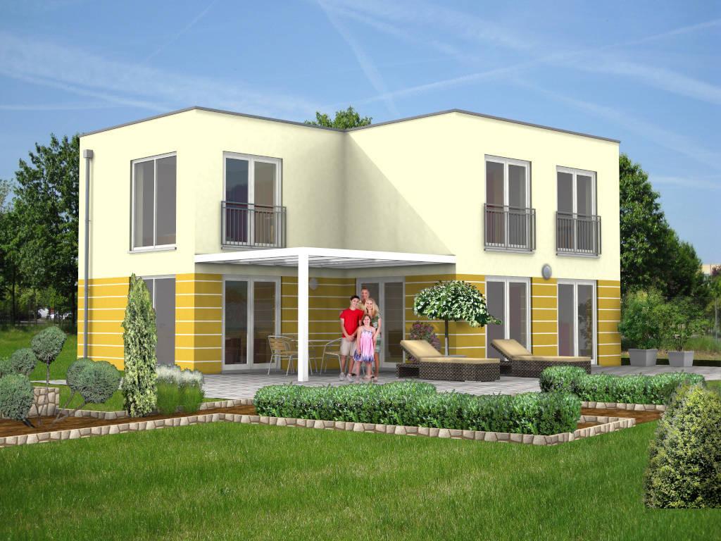 Villa Flachdach 126qm