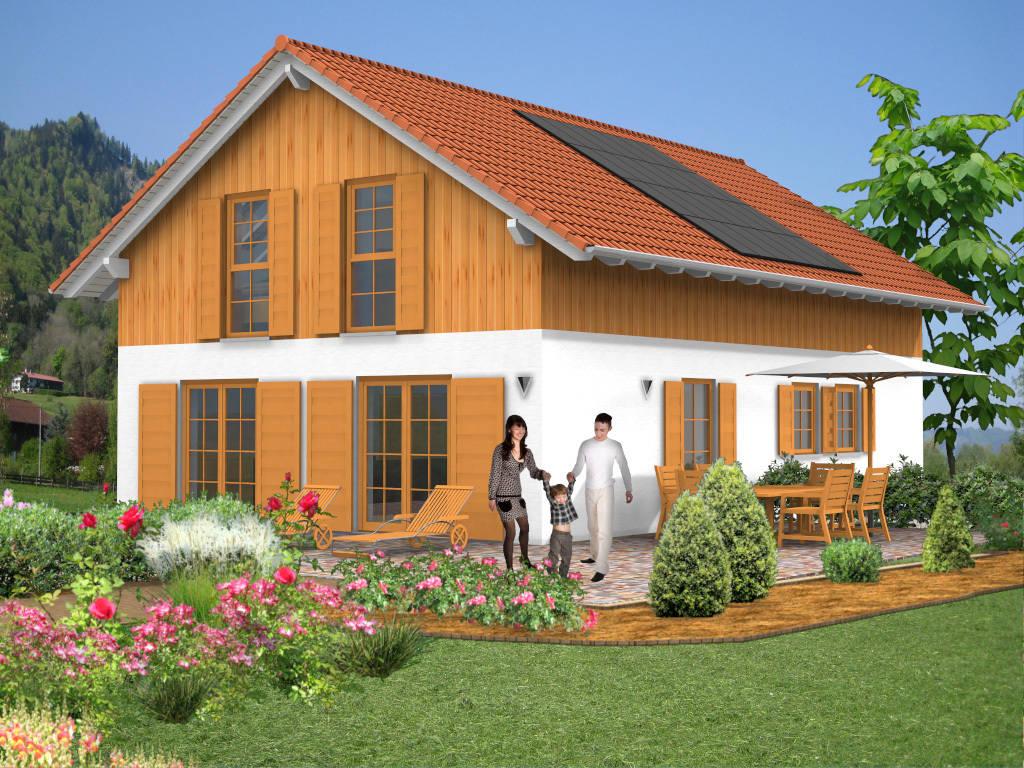 Landhaus Bauernhaus Holzverkleidung 152qm