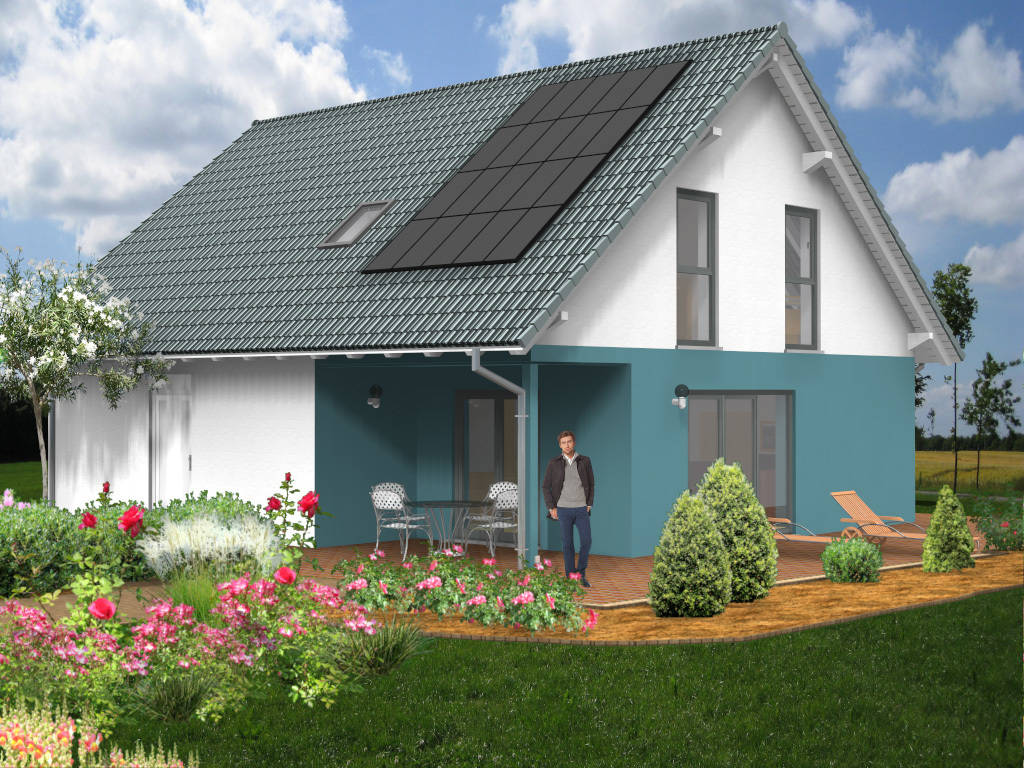Architektenhaus Energiesparhaus 145qm