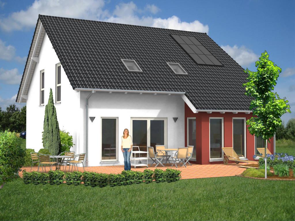 Massivhaus Familienhaus Passivhaus 158qm