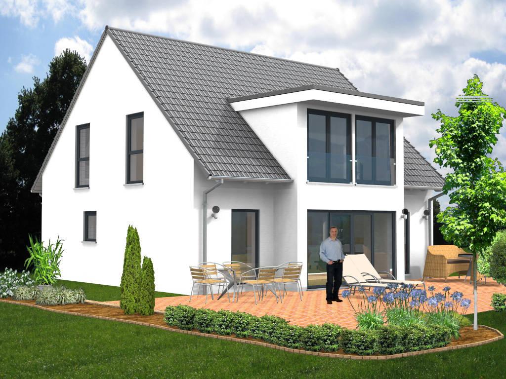 Passivhaus Satteldachhaus 145qm
