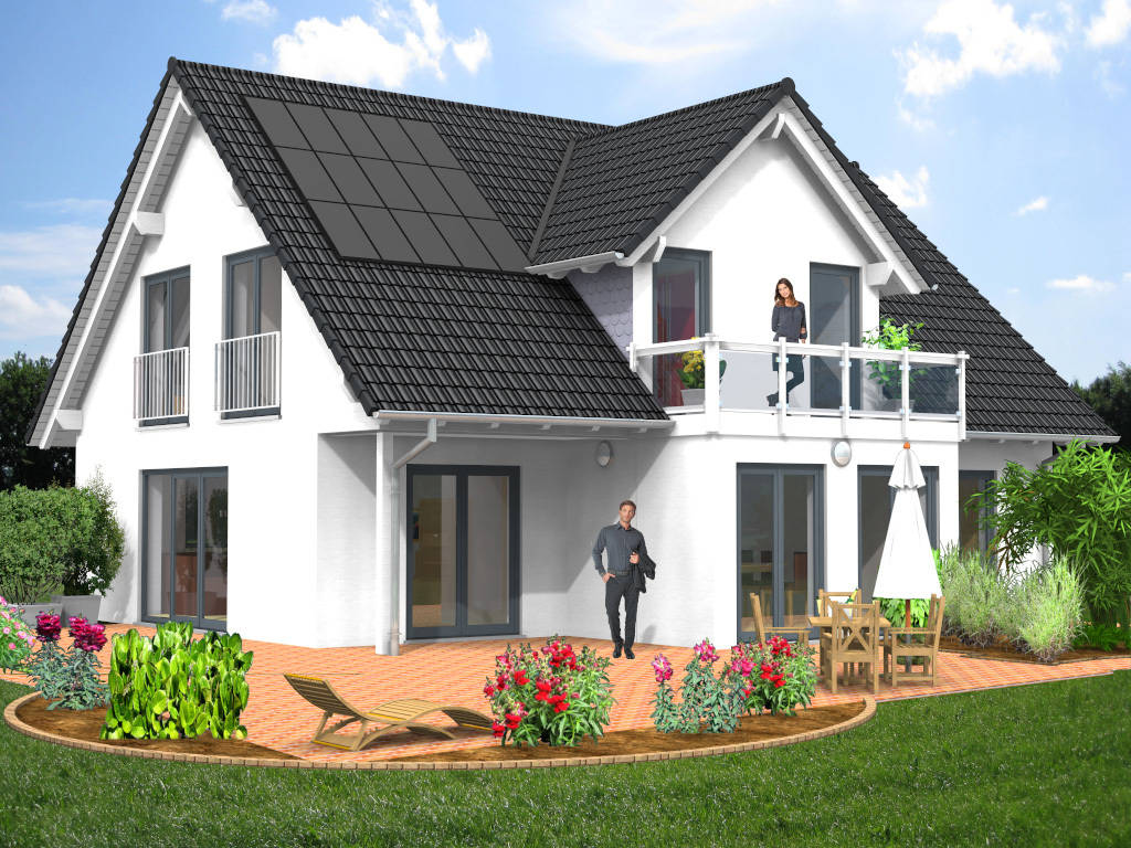 Architektenhaus Stilhaus Fertighaus 165qm