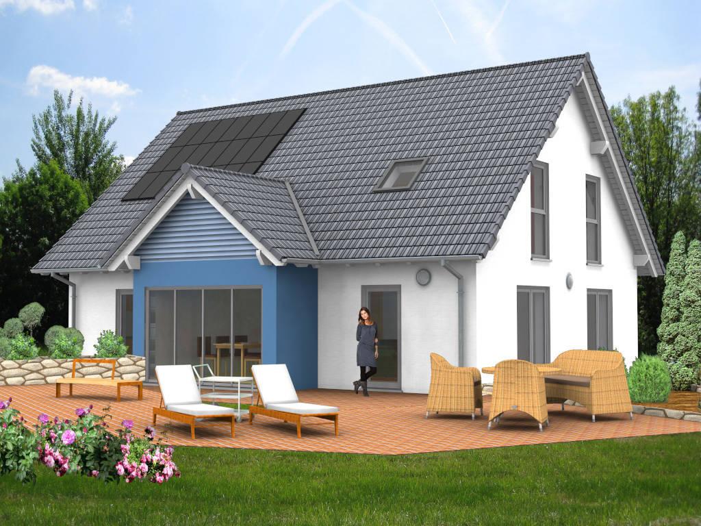 Einfamilienhaus Satteldach Schwedenhaus 163qm