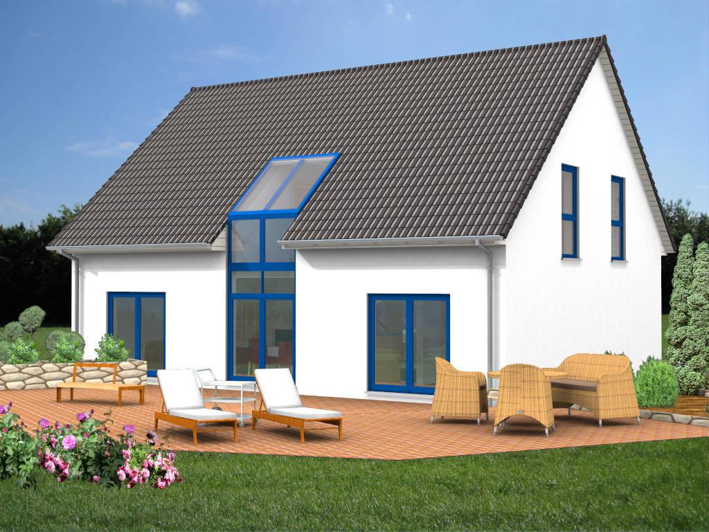 Passivhaus Satteldach Energiesparhaus 168qm