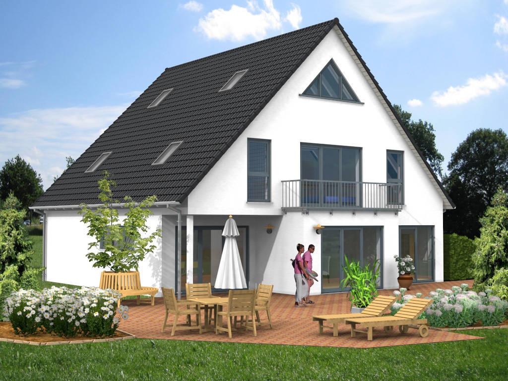 Einfamilienhaus Architektenhaus Balkon 220qm