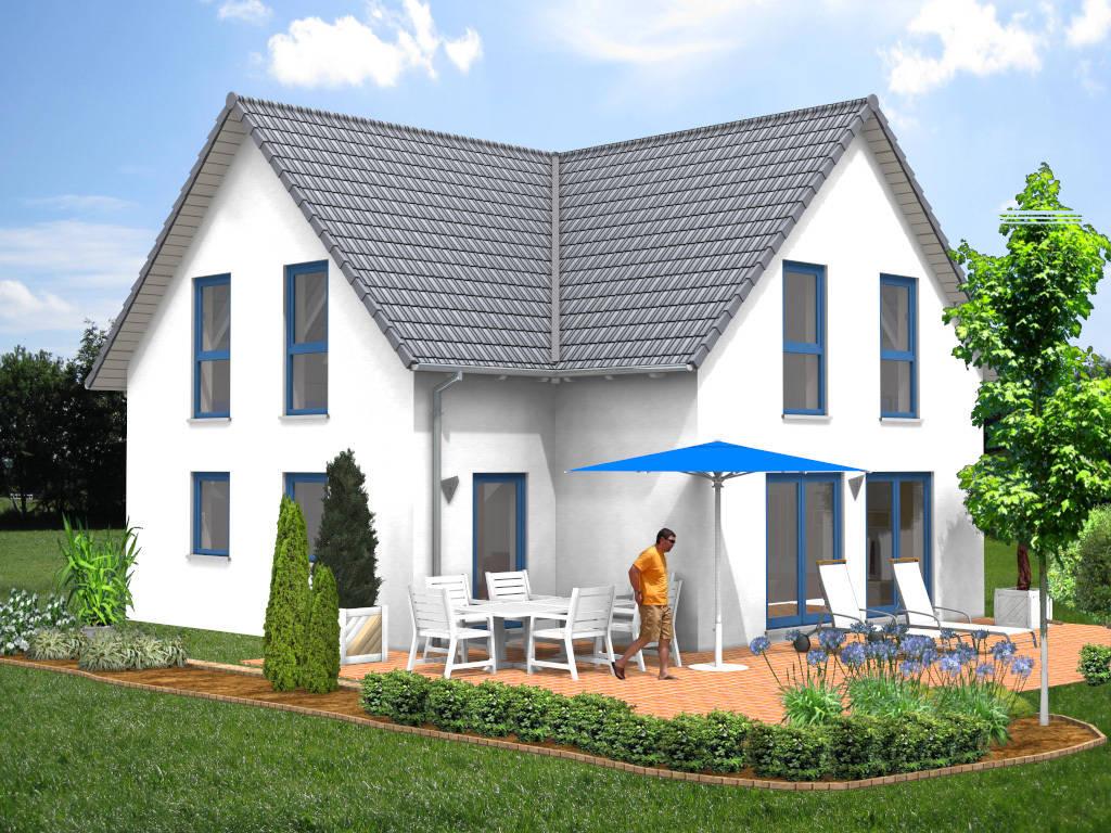 Architektenhaus Satteldach Eigenheim 113qm