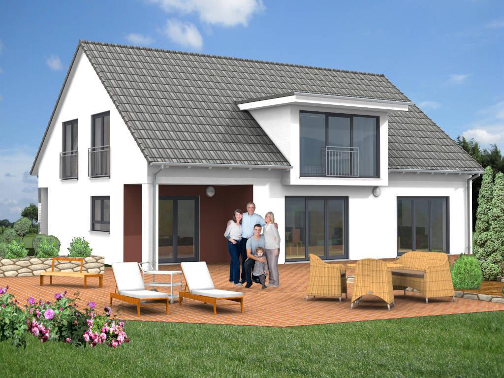 Familienhaus Loggia Windfang 224qm