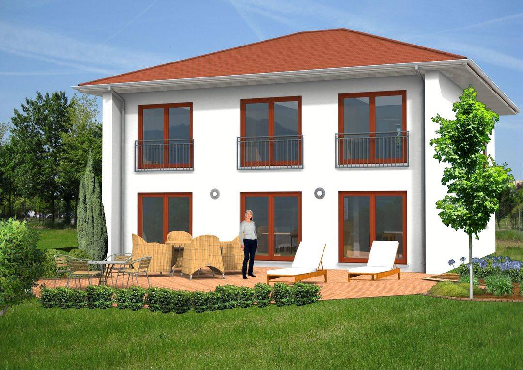 Sonnenhaus Stadthaus Terrasse 172qm