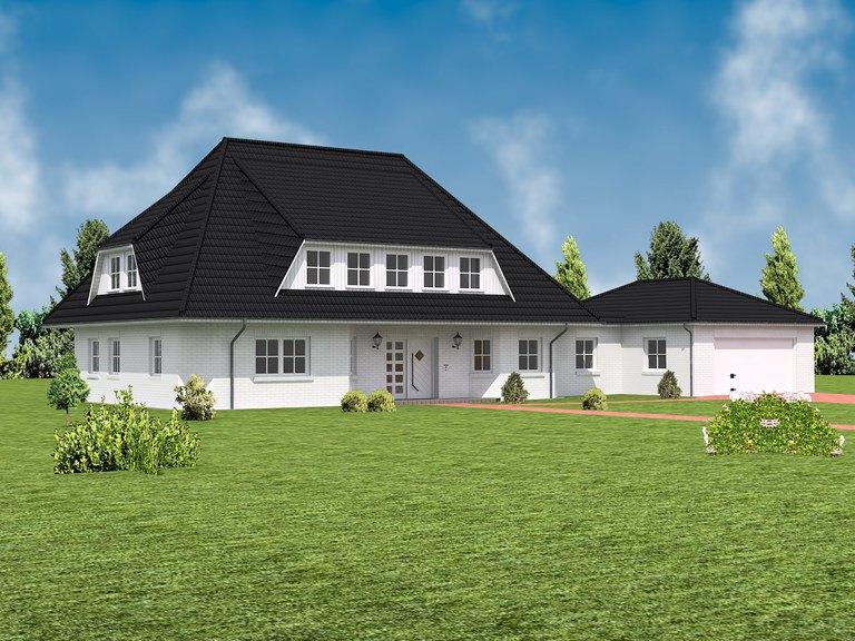 Villa Blankenese Ansicht 1 - IBIS Haus