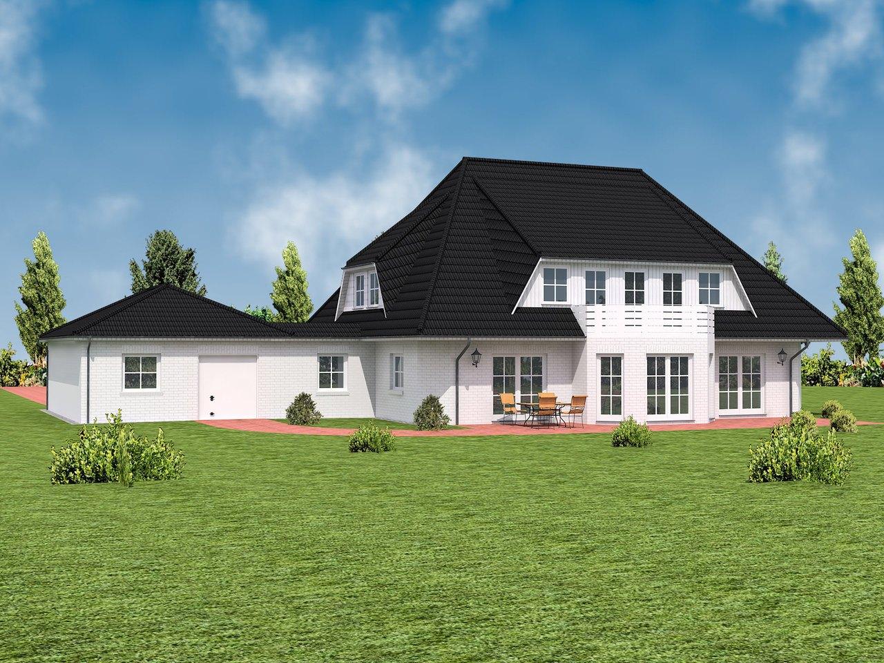 Villa Blankenese Ansicht 2 - IBIS Haus