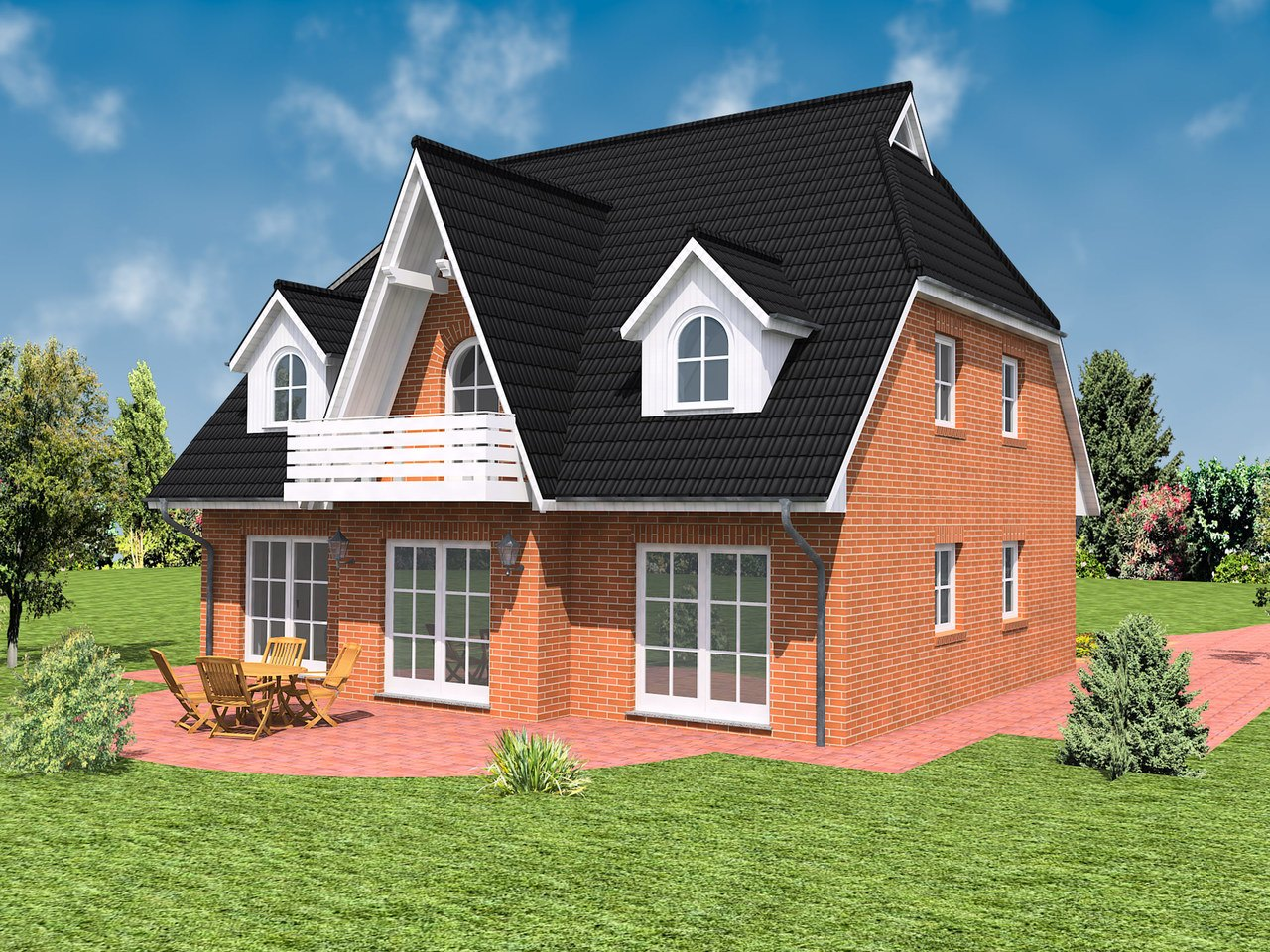 Haus Ahrenshoop Ansicht 2 - IBIS Haus