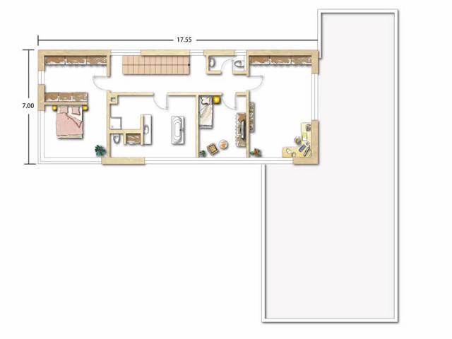 Grundriss Obergeschoss Neunecker