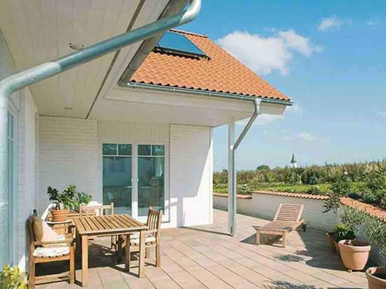 Winkelbungalow Seeland - Danhaus Terrasse