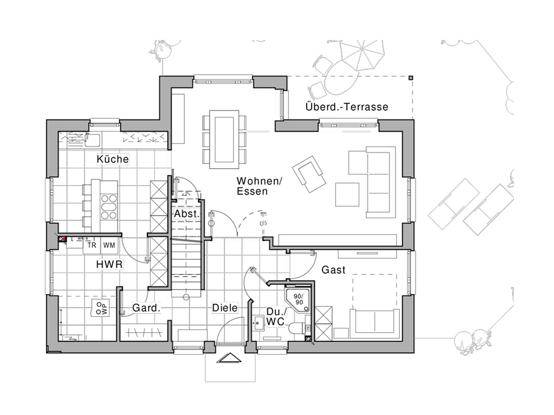 Haus edition 220 viebrockhaus for Muster grundrisse haus