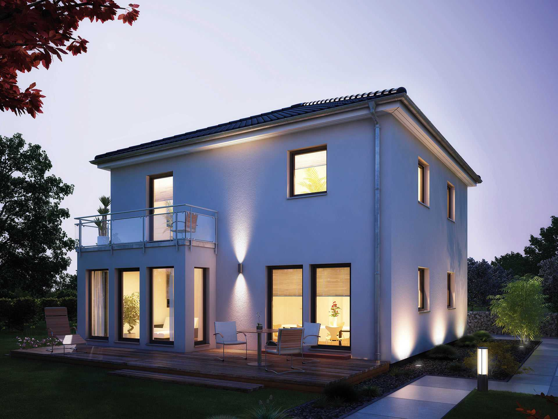 villa 134 hanse haus. Black Bedroom Furniture Sets. Home Design Ideas