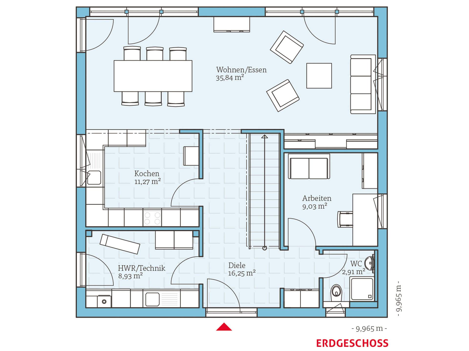 cubus 167 hanse haus. Black Bedroom Furniture Sets. Home Design Ideas