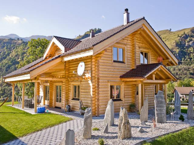 Haus Alpine Chalet von Honka Blockhaus