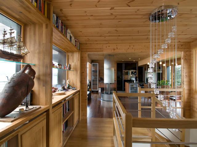 Haus Bretagne von Honka Haus, Innenansicht