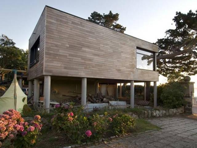 Haus Bretagne von Honka Haus, Aussenansicht