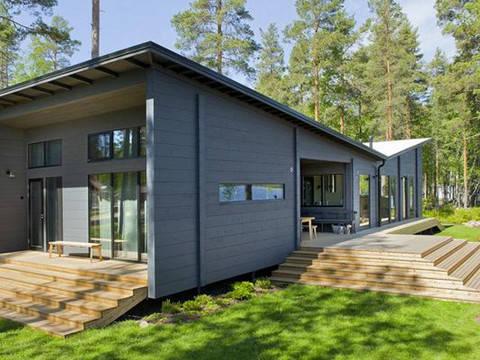 Extrem Haus Lokki von Honka Blockhaus GmbH DN72