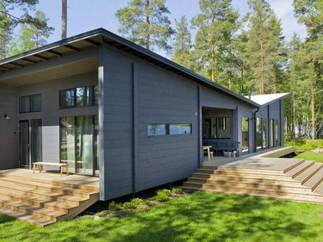 Haus Lokki von Honka Blockhaus