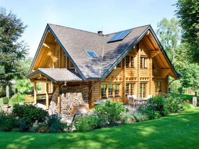 Haus Rheinland von Honka Blockhaus