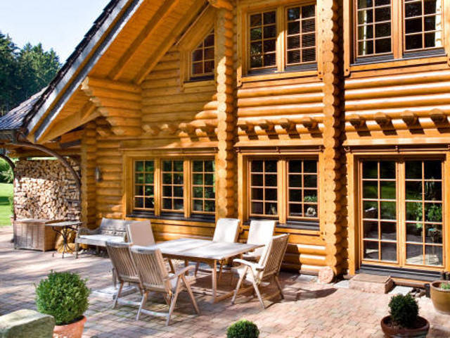 villa rheintal willkommen in der villa natur honka blockhaus. Black Bedroom Furniture Sets. Home Design Ideas