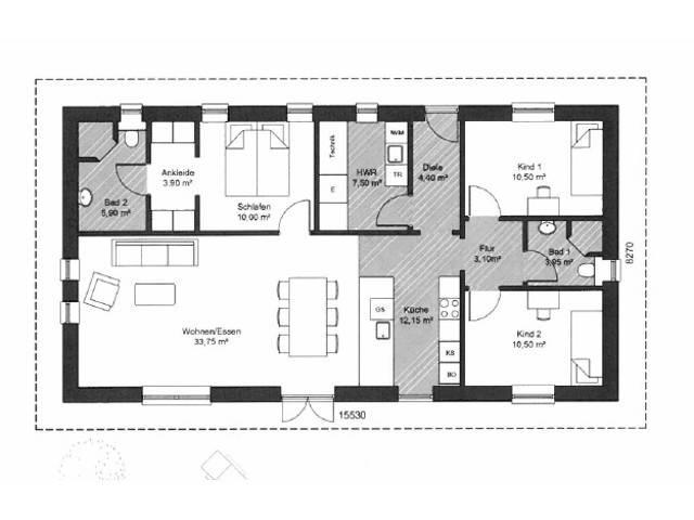 bungalow 128 die hauscompagnie. Black Bedroom Furniture Sets. Home Design Ideas