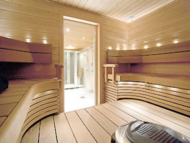 Haus Harjut von Honka Blockhaus, Sauna