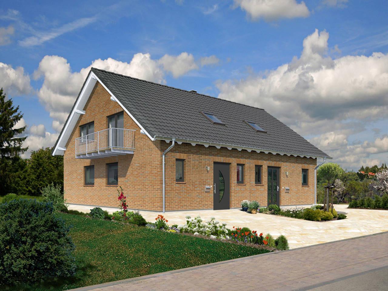 Doppelhaus Behringen 116 Klinker a5