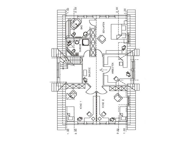 Haus Seevetal Grundriss Dachgeschoss
