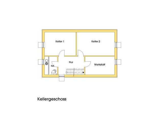 Haus Birgit Grundriss Kellergeschoss