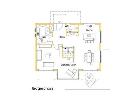 Haus Stefanie Grundriss Erdgeschoss