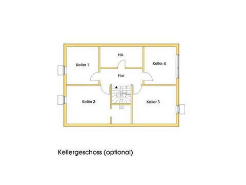 Haus Stefanie Grundriss Kellergeschoss