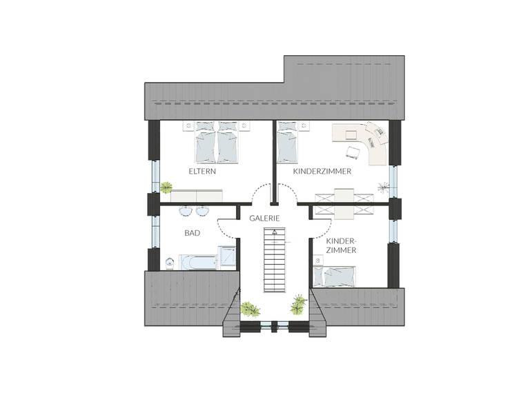 Haus ProArt 182 Grundriss DG
